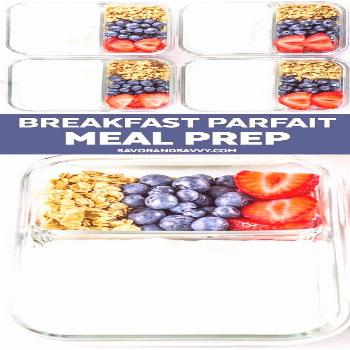 Parfait Breakfast Meal Prep  Great  Meal Prep Recipes !!! I Made it exactly like it said | Meal Pre