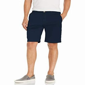 RVCA mens The Weekend Stretch Chino Casual Shorts, Navy