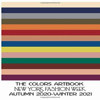 THE COLORS ARTBOOK NEW YORK FASHION WEEK AUTUMN 2020-WINTER