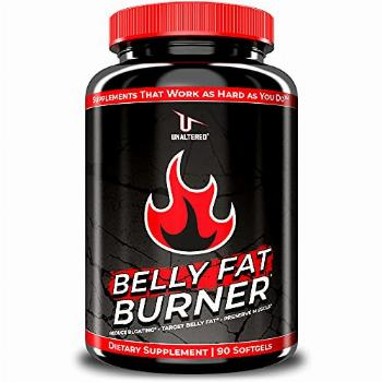 UNALTERED Belly Fat Burner - Natural Weight Loss Pills for